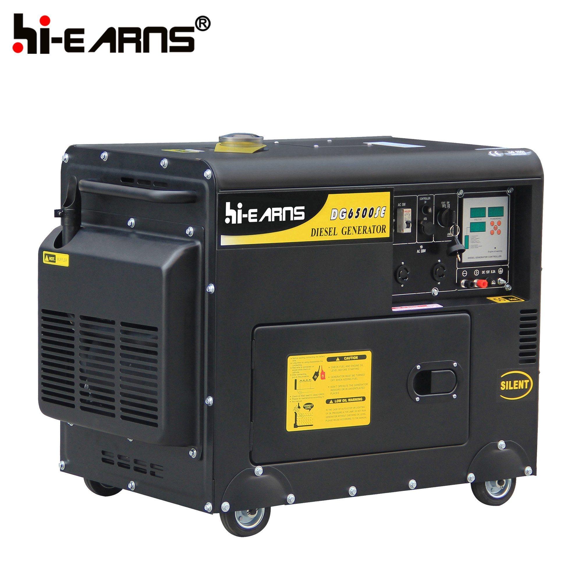 China Silent Diesel Welding Generator Set DG6500SEW China