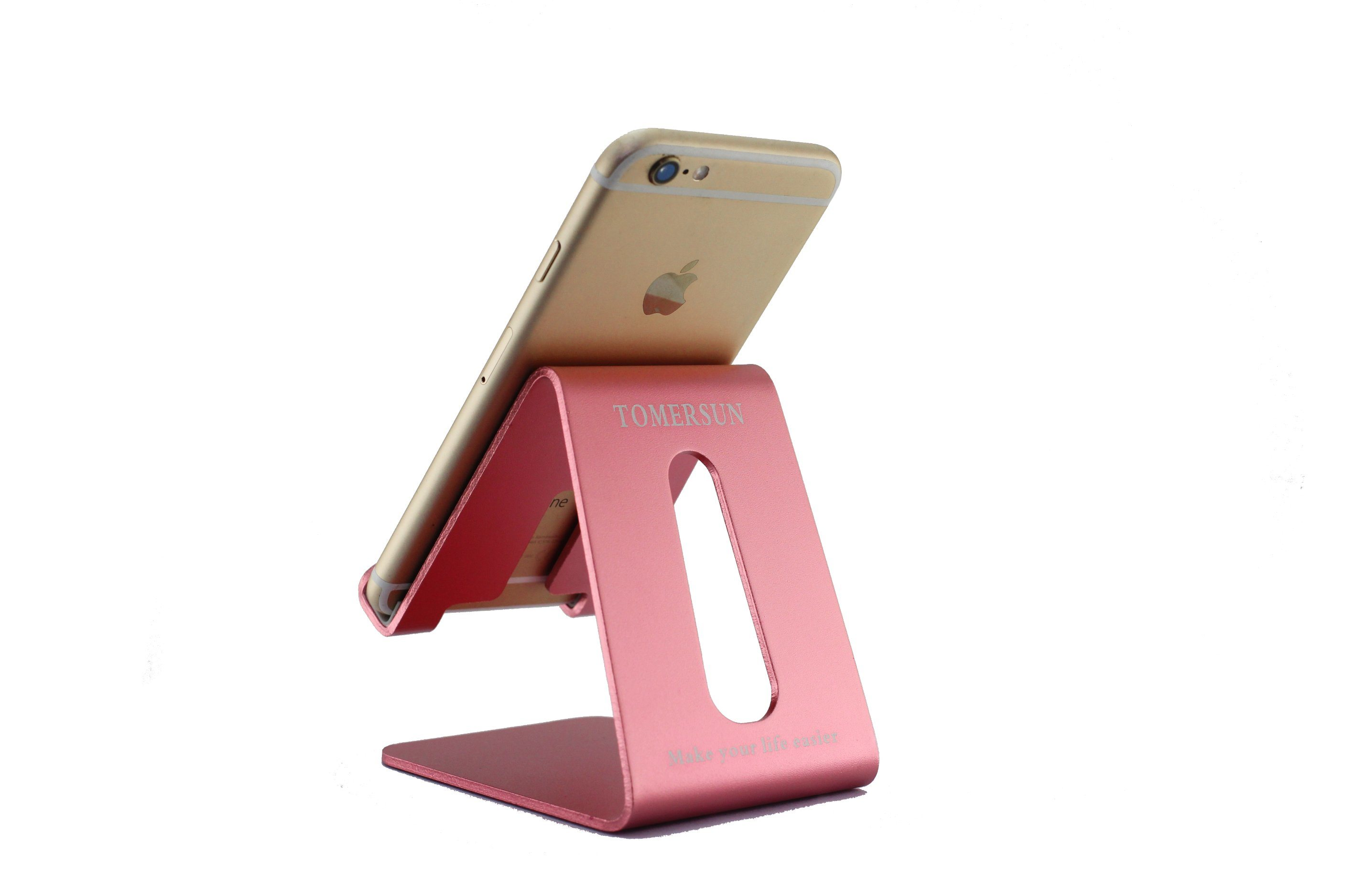 China Universal Cellphone Holder Aluminum Metal Desk Stand Phone Display