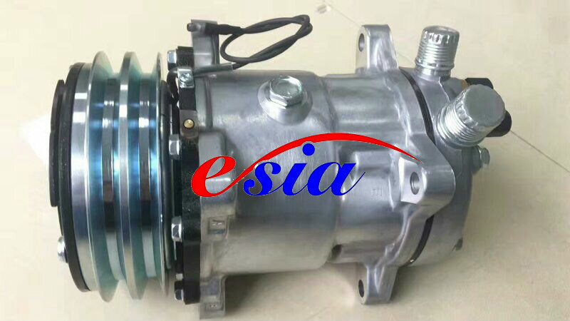 Auto Parts AC Compressor for Nissan Pathfinder 2.5 Dks17D 7pk 139mm
