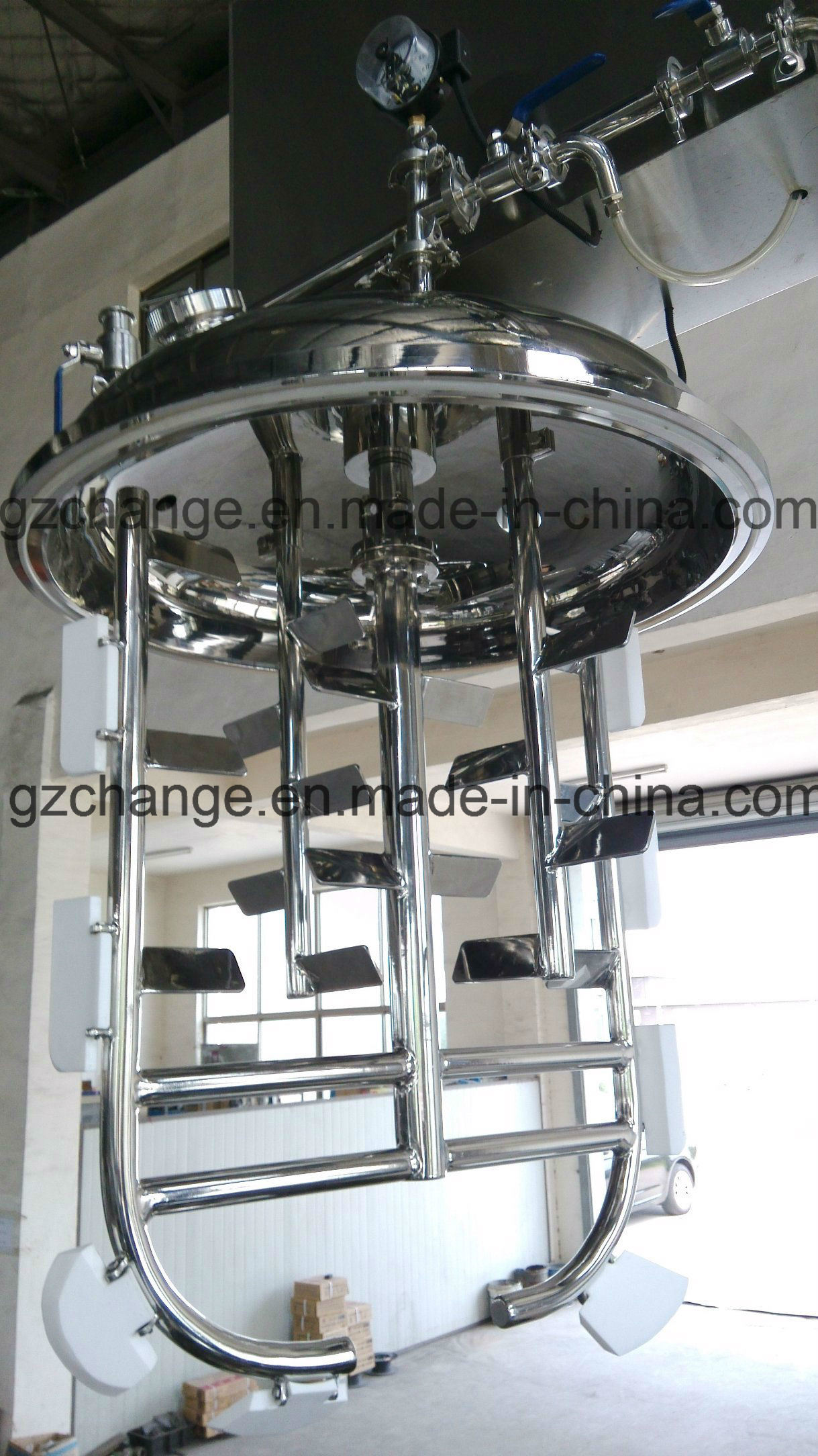 Vacuum Emulsifying Homogenizing Machine pictures & photos