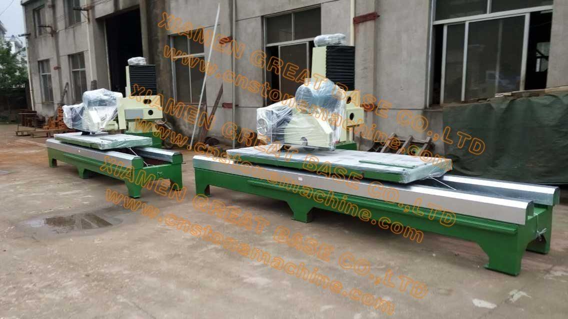 china gbsy 2800 edge cutting machine by manual granite cutting