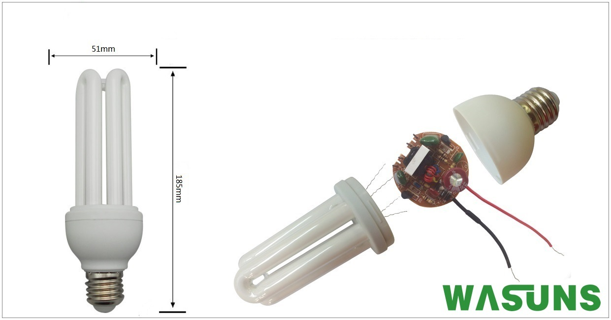 Ce RoHS Approval 3u 18W E27 4200k Energy Saving Bulb pictures & photos