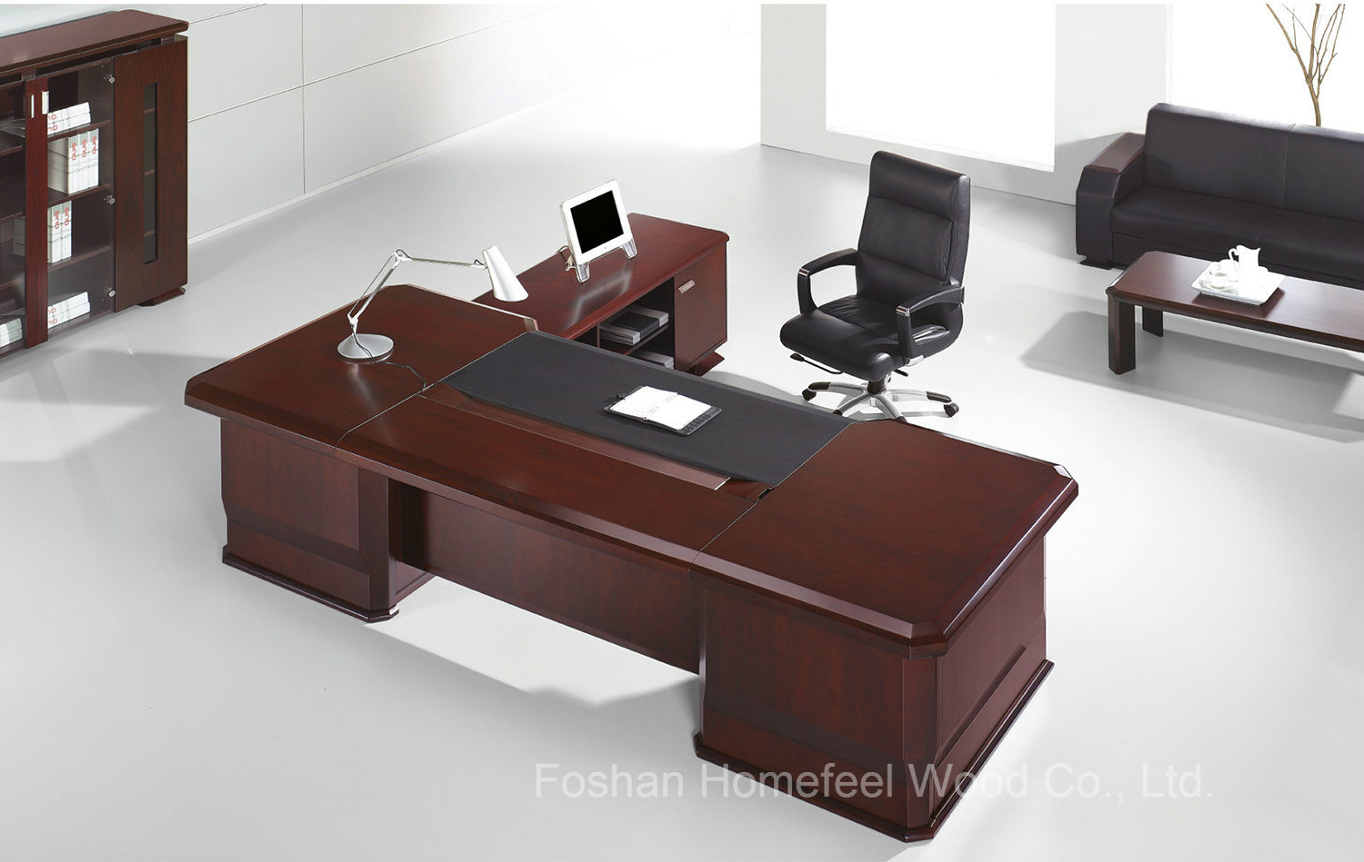 wooden office table. Modern Wooden Office Furniture Desk For Sale, Executive CEO Table (HF-MBHD3926) I