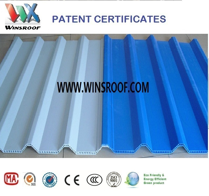 Winsroof UPVC Hollow Roof Tile