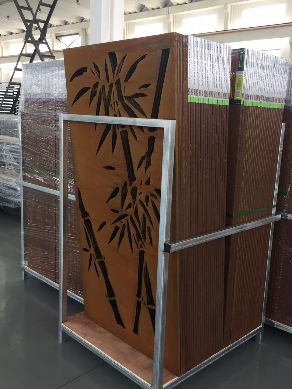 China Design Of Metal With Laser Cutting Corten Steel Sheets