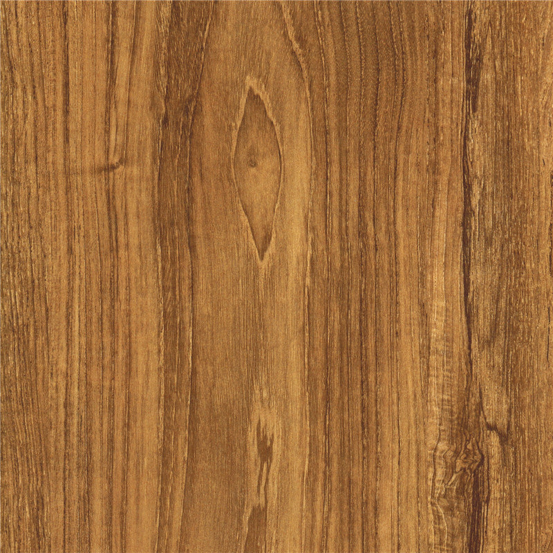 China Teak Wood Grain Melamine Paper For Laminated Floor Furniture