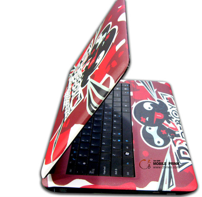 Laptop sticker keyboard skins sticker printing machine
