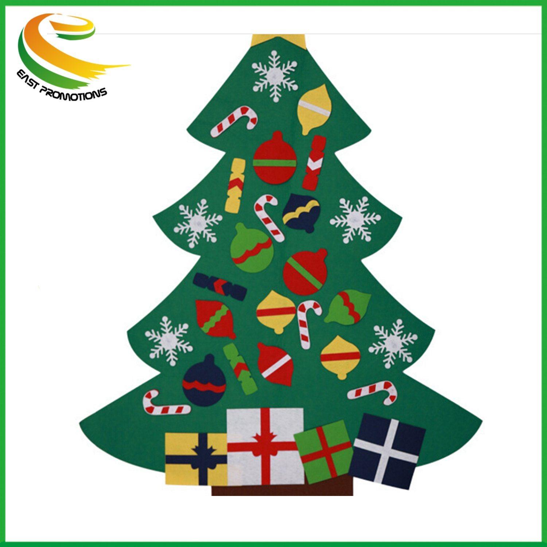 wholesale hot artificial decoration 2019 felt christmas tree - Wholesale Artificial Christmas Trees