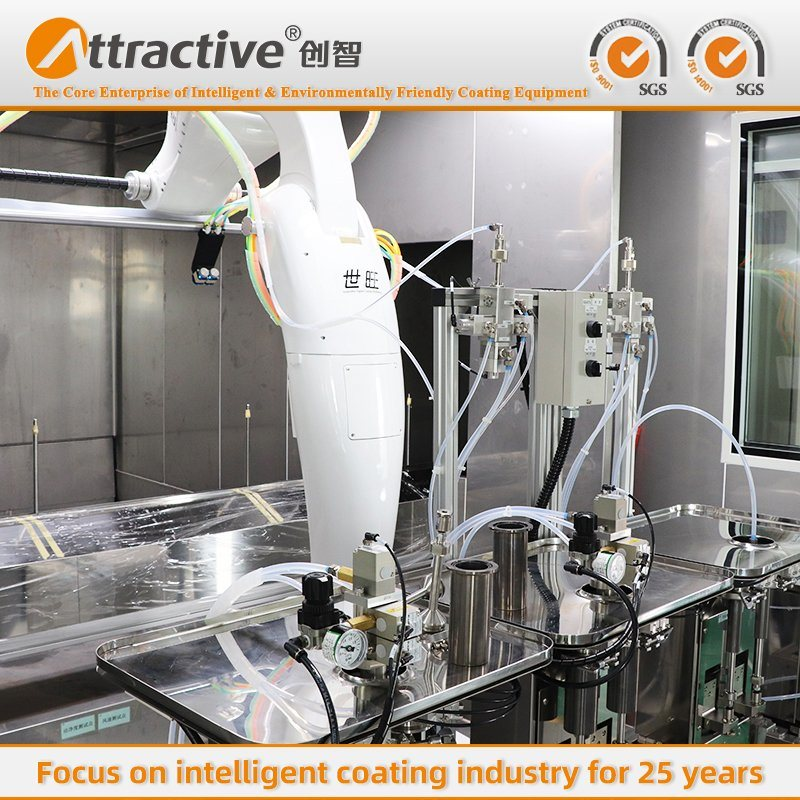 Automatic Spraying Machine Industrial Coating Equipment Line for The Production of Automobile Bumpers