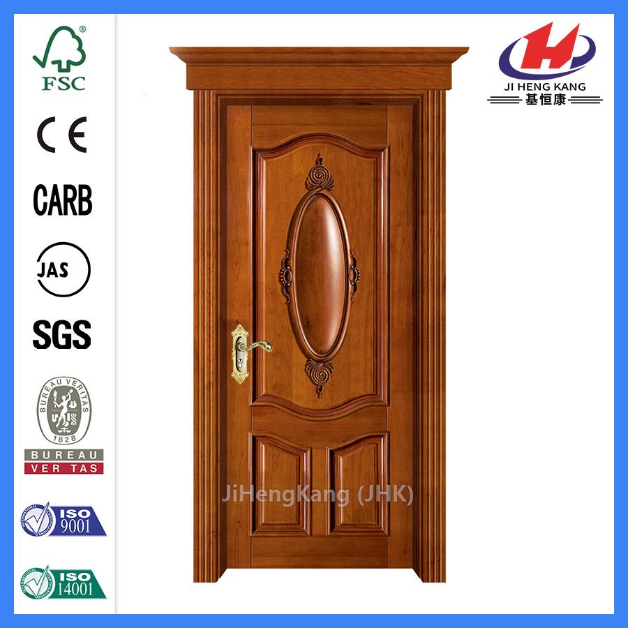 China Teak Wood Door Frame Hyderabad Readymade Wooden Doors - China ...