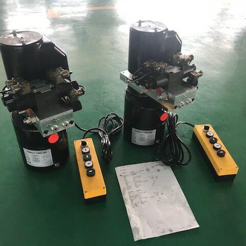 8 Quart Single Acting Hydraulic Pump Dump Trailer Repair 12V Unit Pack
