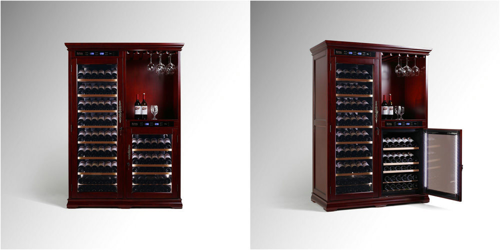 China American Oak Climate Control Wine Cellar Constant