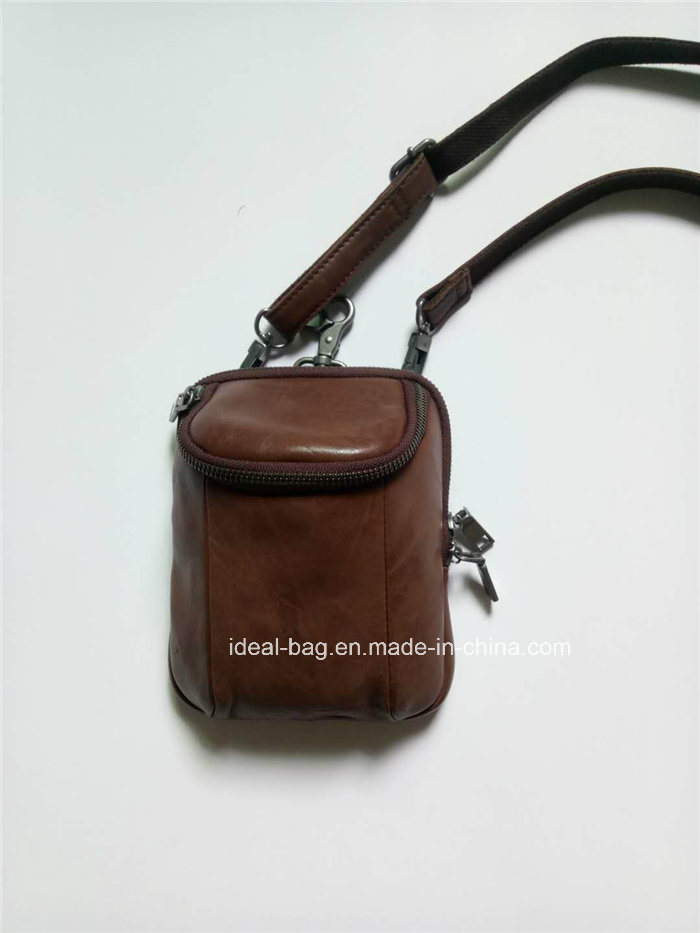 c32c5fbd64b China Fashion Genuine Leather Waist Belt Bag, Men Leather Messenger ...