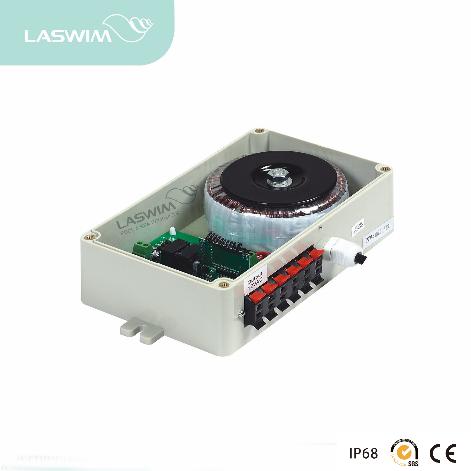 [Hot Item] Laswim Swimming Pool LED Underwater Light Remote Controller Box