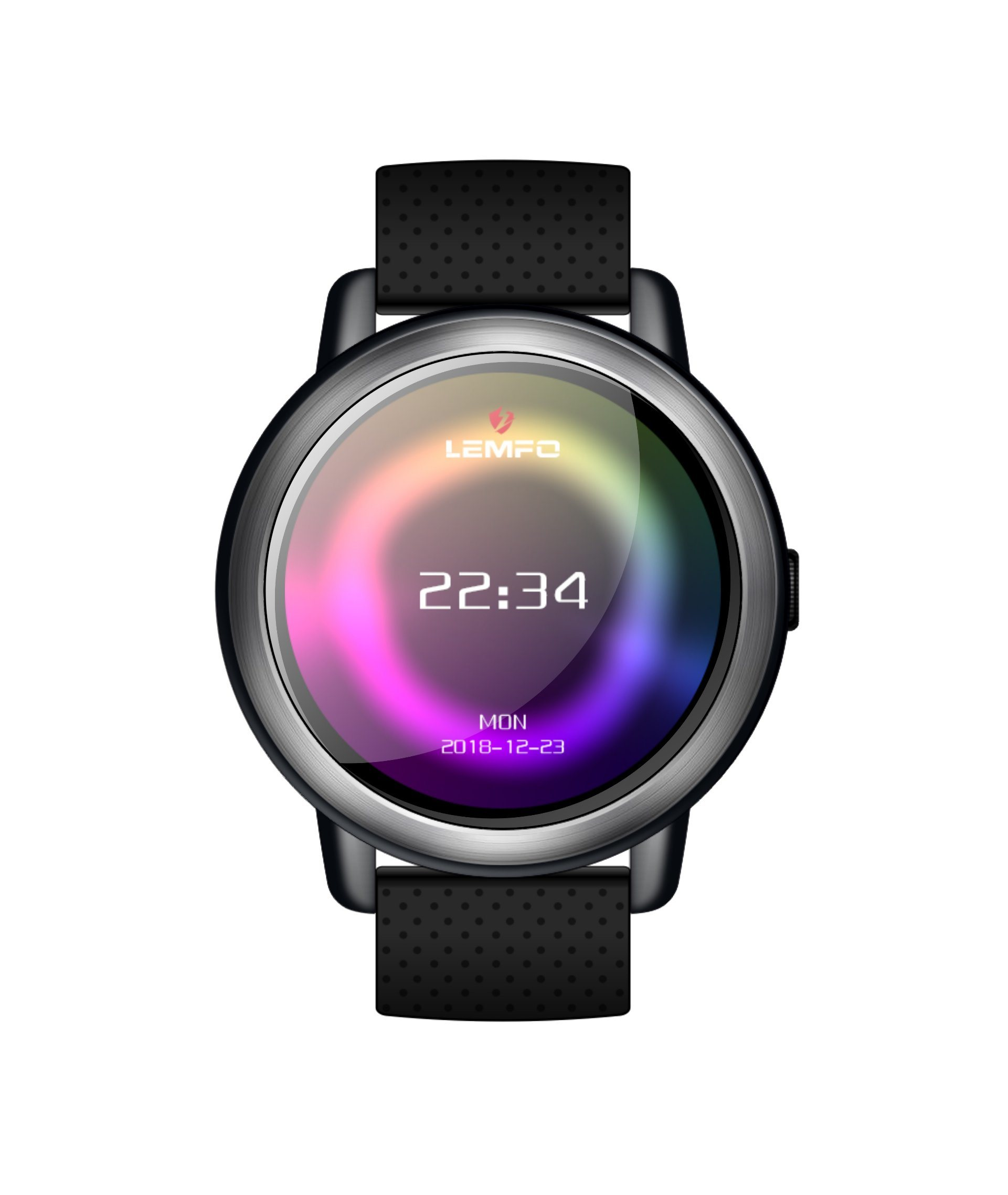 90882ab5d7f China Lemfo Lem8 4G Wearable Devices Android 7.1.1 2GB+16GB Support GPS    WiFi   SIM Card   Heart Rate Monitor 2MP Camera Smartwatch - China Smart  Watch