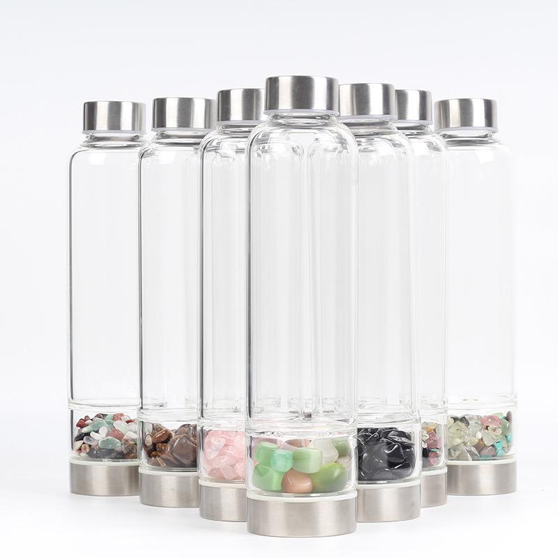 China Oem Creative Spa Magic Wand Crystal Gravel Water Glass
