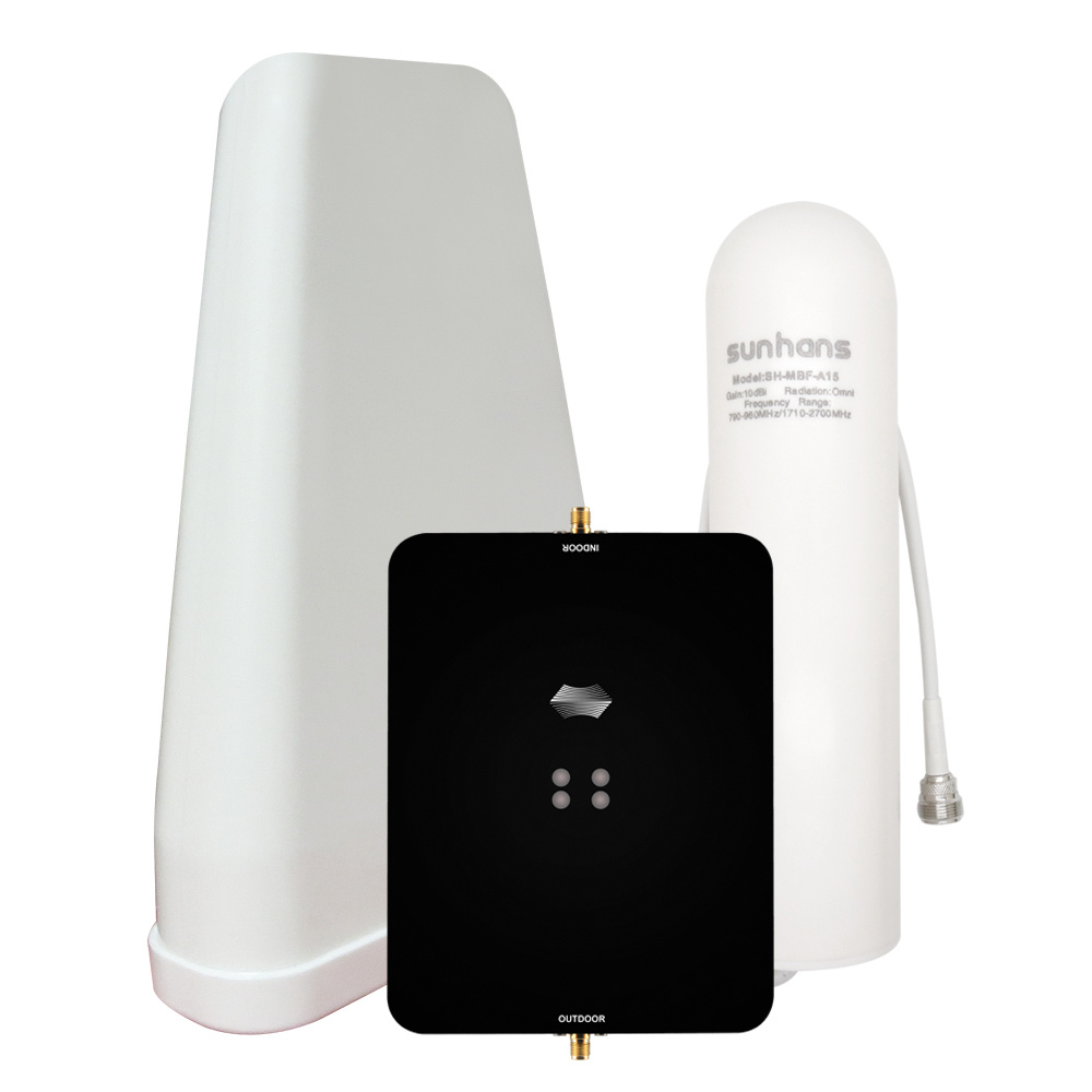 Signal Booster Phone Cell 4g Repeater Lte Amplifier 3g Mobile Wireless Extender