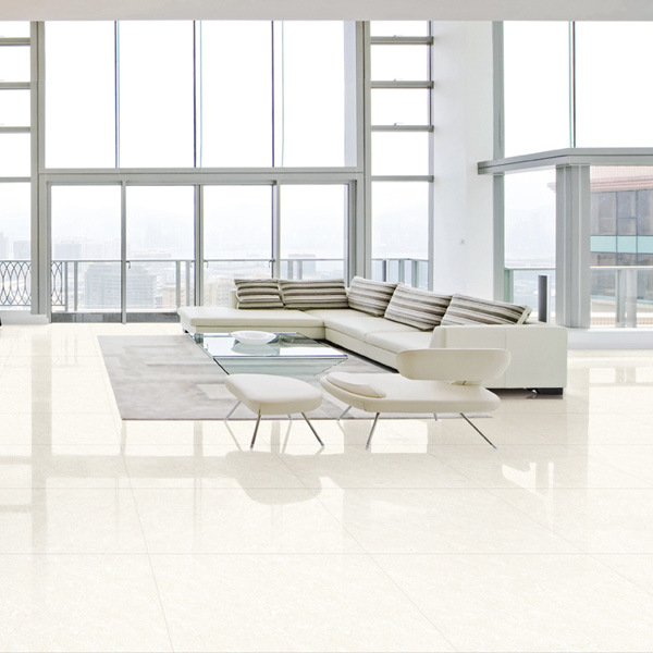 Low Price White Glossy Ceramic Tiles Floor For