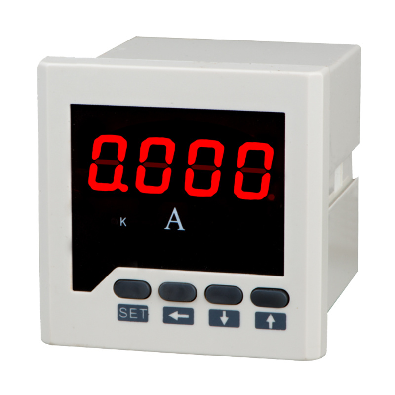 LED Display Three Phase Digital Ammeter with Bound Alarm