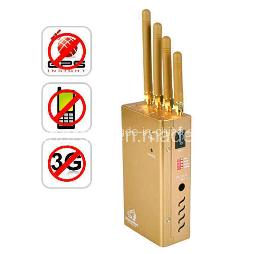 Portable GPS Jammer with GSM 3G  (TG-121D)