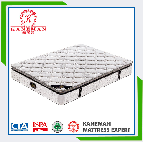 Queen Size Latex Mattress Pocket Spring High Density Foam Mattress pictures & photos