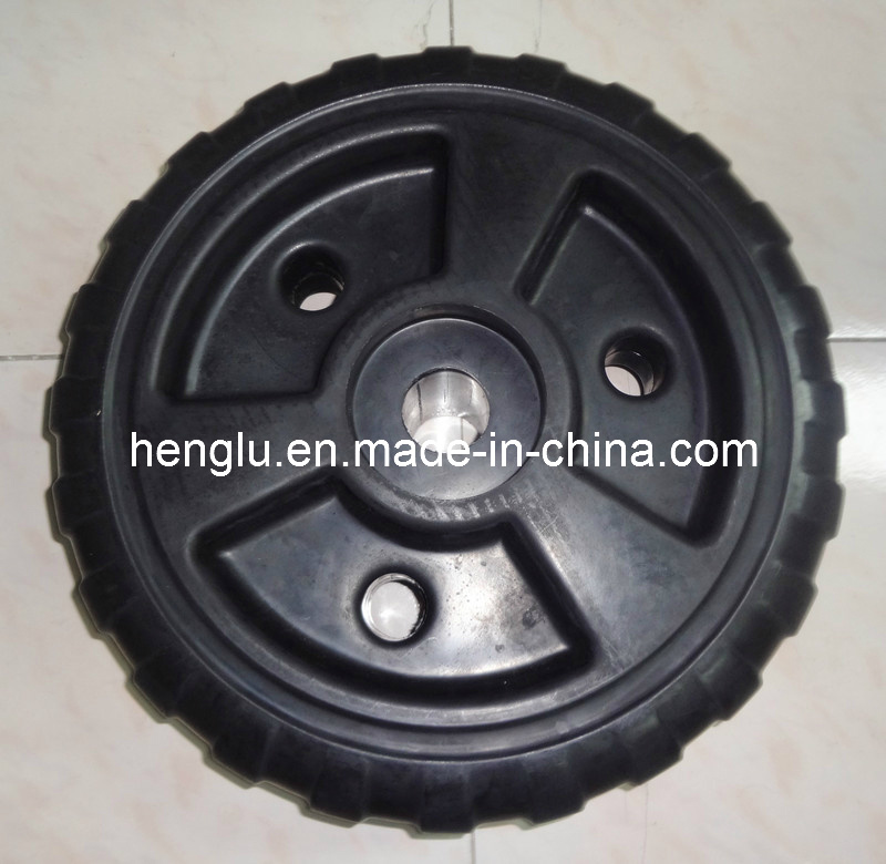18 Inch Rolling Dock Wheel in Good Quality Plastic