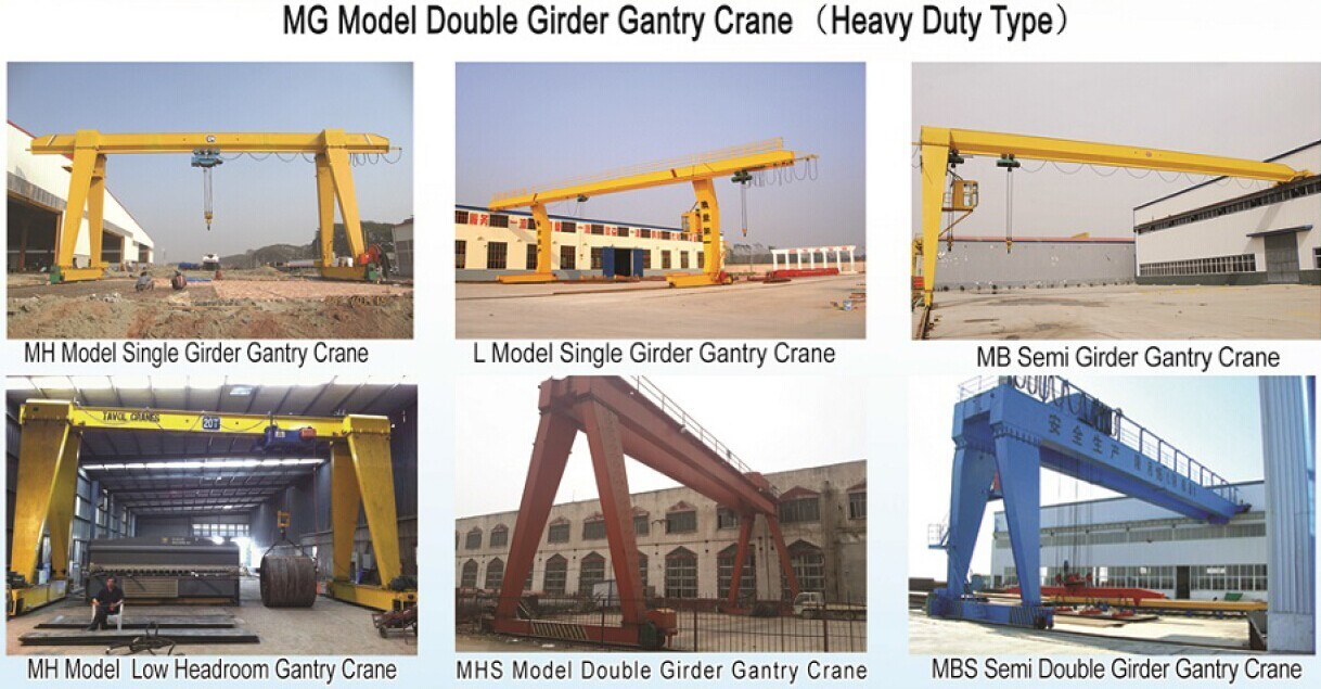 5-300 Ton Gantry Crane (MG) pictures & photos