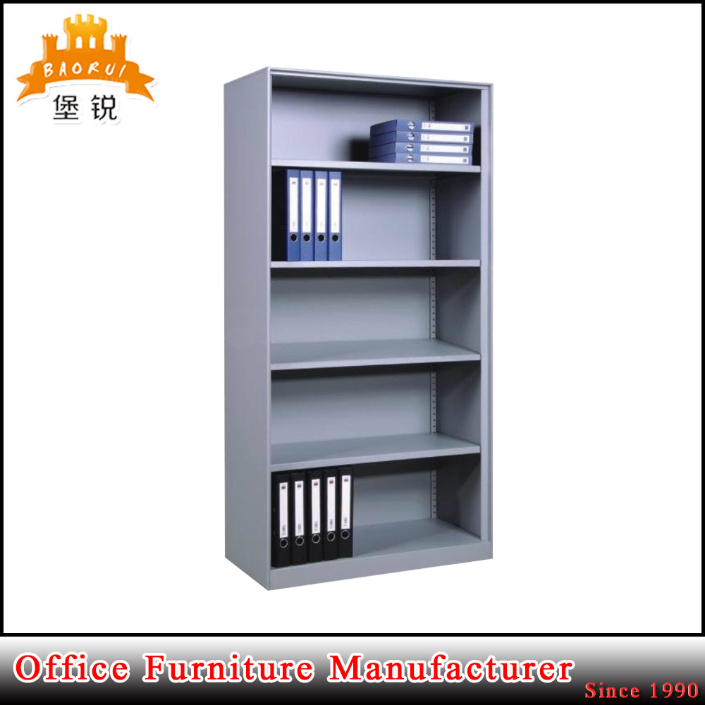 China Open Book Rack Shelving Without Door Library Shelf Steel