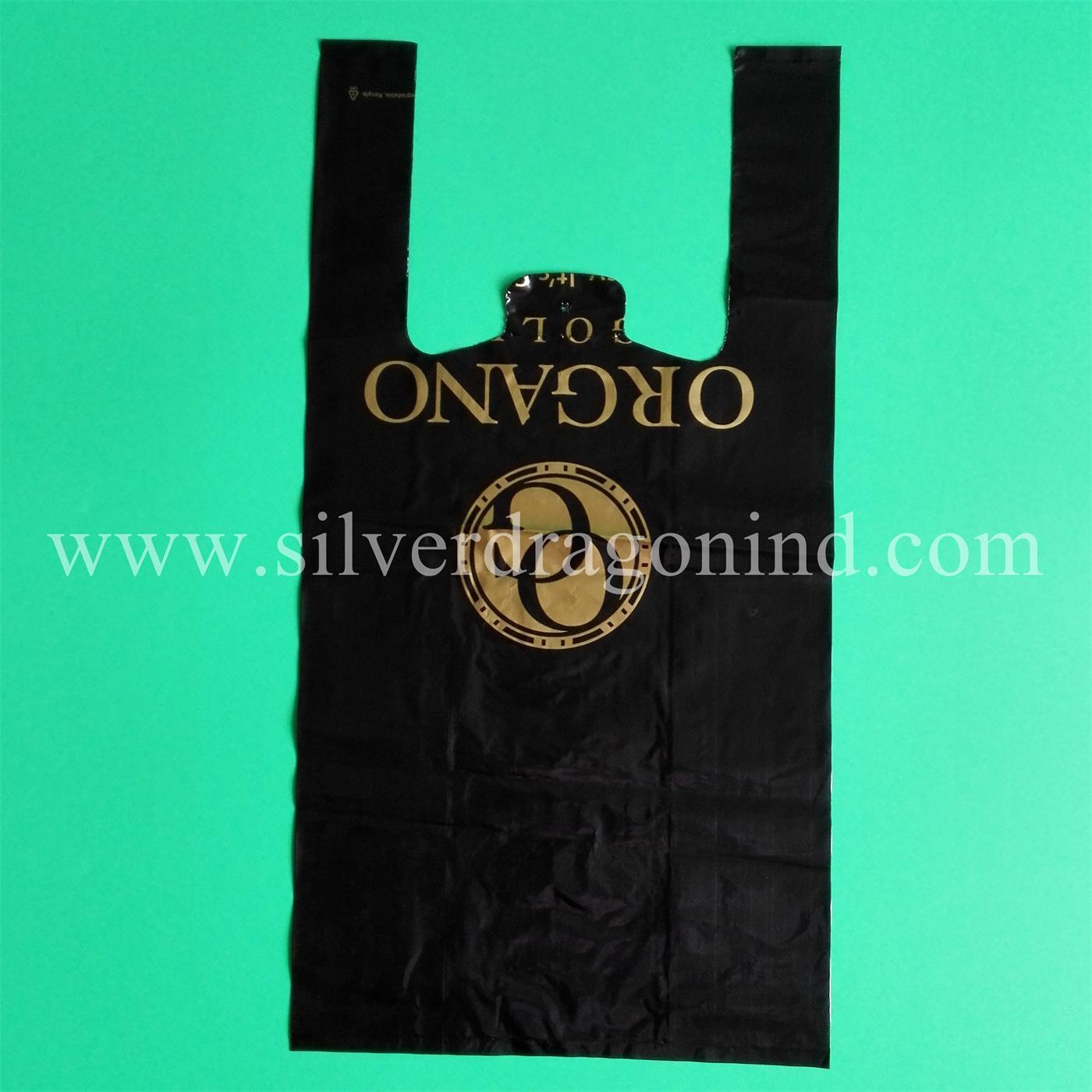 China Custom Printed Ldpelldpe T Shirt Bags For Shopping China T
