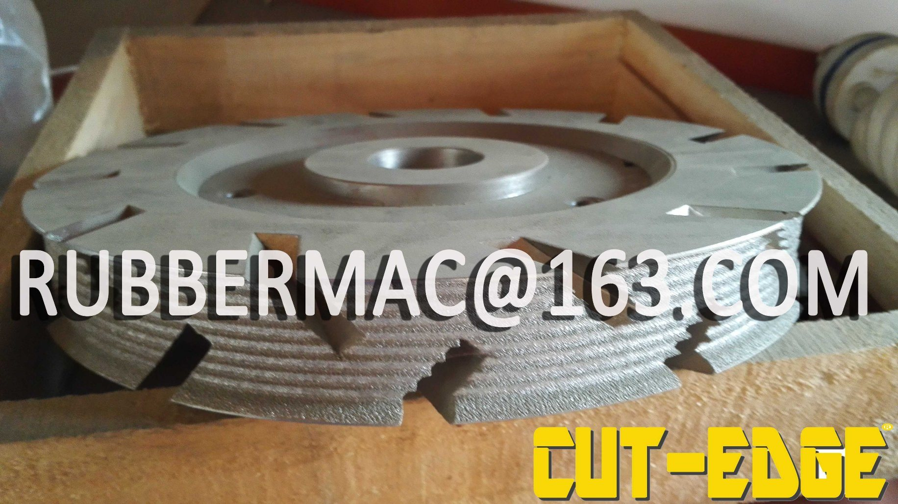 China Grinding Machine For V Belt Poly V Belt Cut Edge