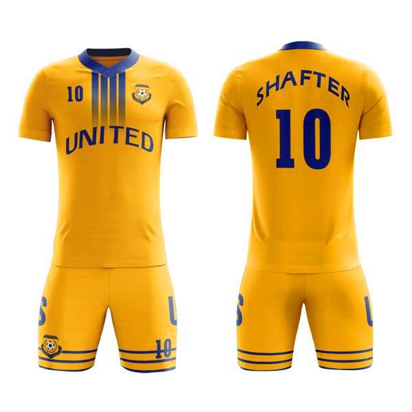 new products 78213 989ca [Hot Item] Custom Sublimated Soccer Uniform Design Sports Heat Transfer  Printing Soccer Jerseys