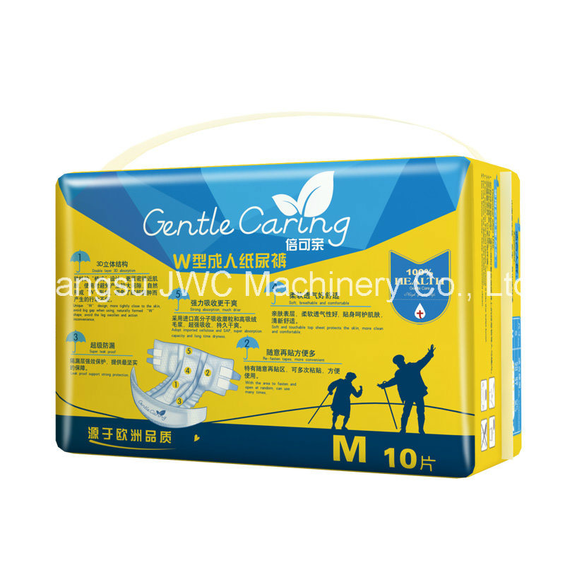 Disposable Comfortable Type Single Tape Adult Diapers