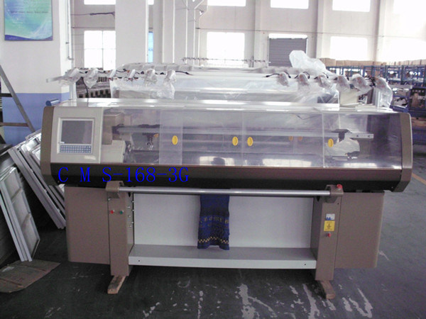 Automatic Flat Jacquard Knitting Machine (TSM-168)