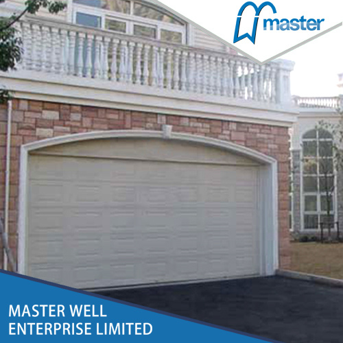 China Sectional Automatic Double Side Hinged Fireproof Garage Doors