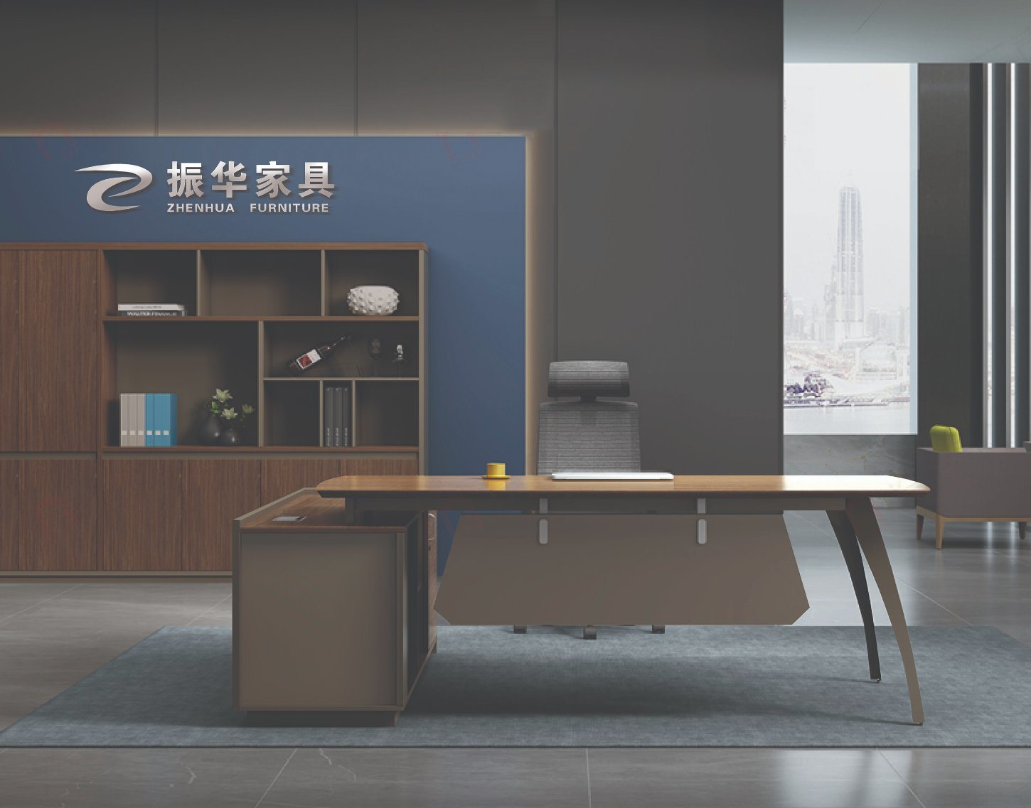 China Business Office Furniture Mdf Office Desk Executive Manager Desk Solid Wood China Office Table Office Furniture