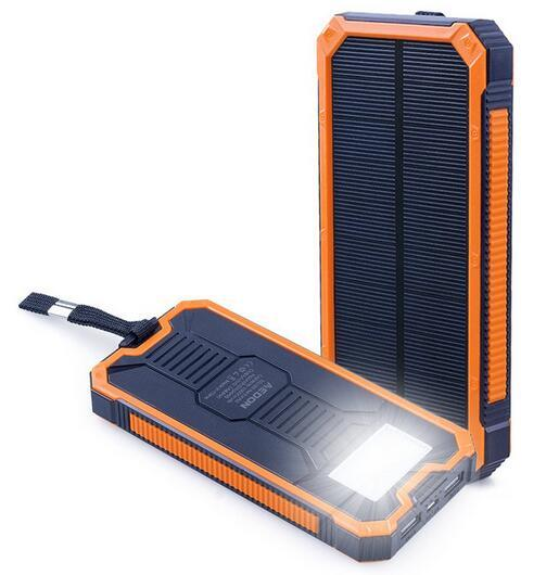 Solar USB Emergency Travel Mobile Phone Power Battery Universal Charger