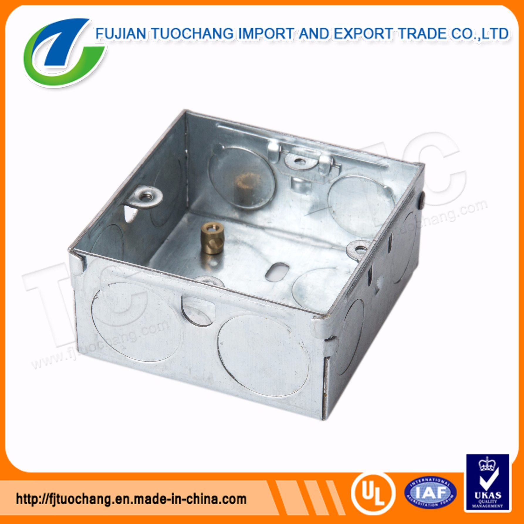 Peachy China Galvanized Steel 3X3 Electric Conduit Box China Conduit Box Wiring Cloud Staixuggs Outletorg