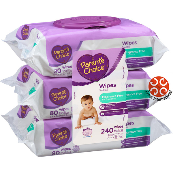 OEM Customize label Natural Care Baby Wipes pictures & photos