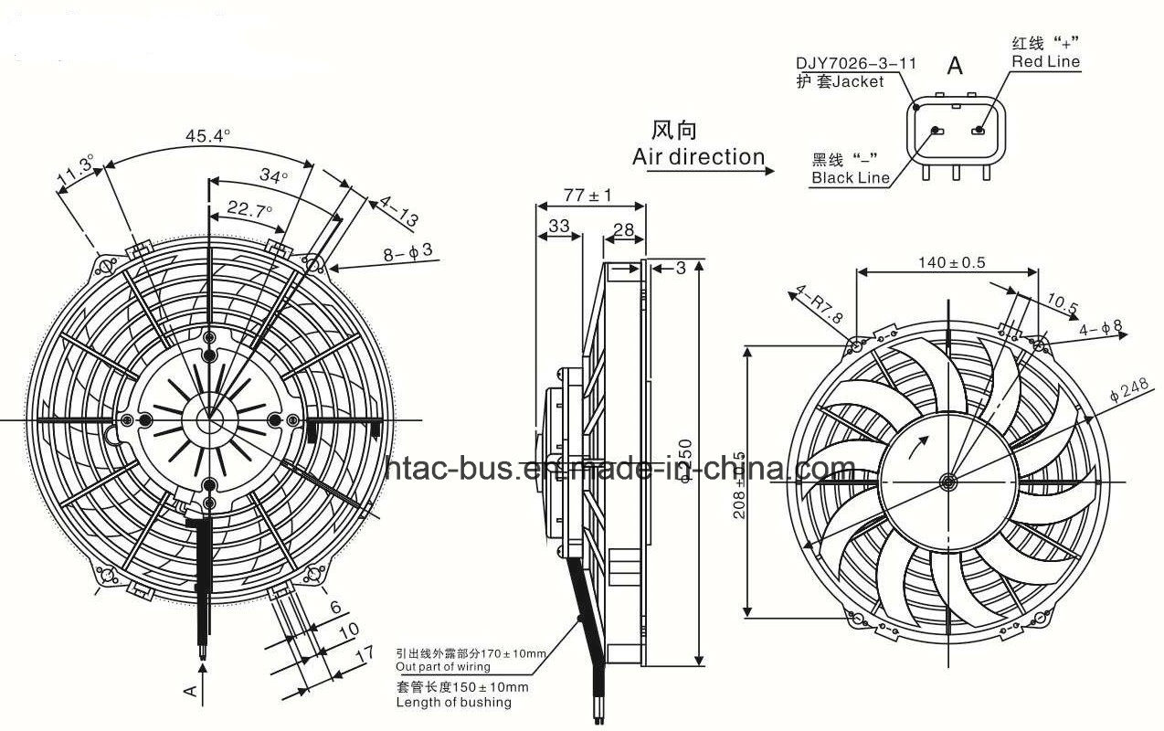 China Agricultural Tractor Condenser Fan Spal Va07 Ap12c 58s Photos Wiring Diagram