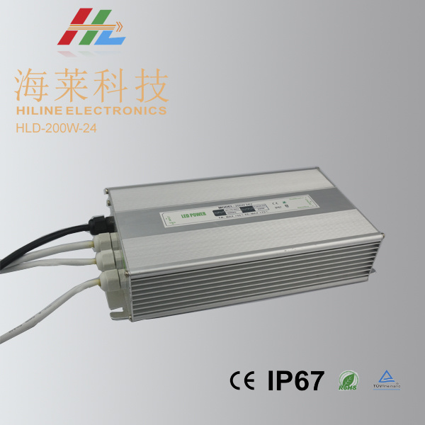 LED Driver 24V 200W Waterproof