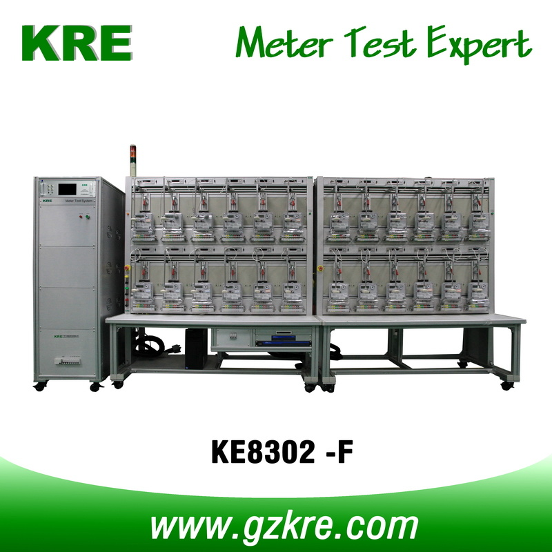 Class 0.05 24 Position Three Phase Electric Meter Test Bench with ICT for Testing I-P Close Link Meter