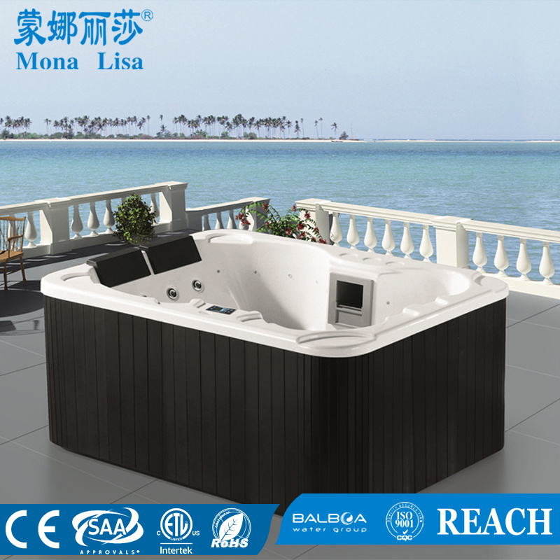 Monalisa Outdoor Whirlpool Bath Hot Tubs SPA M-3364 China - Hot Tubs ...