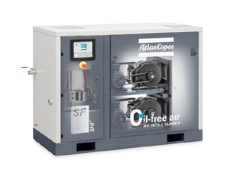 Atlas Copco Scroll Oil Free Air Compressor pictures & photos