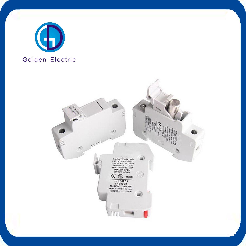 China High Quality 1p Factory Price Fuse Box Ceramic Dc Photos Plastic