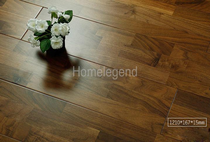 China Tertiary Colours American Black Walnut Engineered Wood Flooring