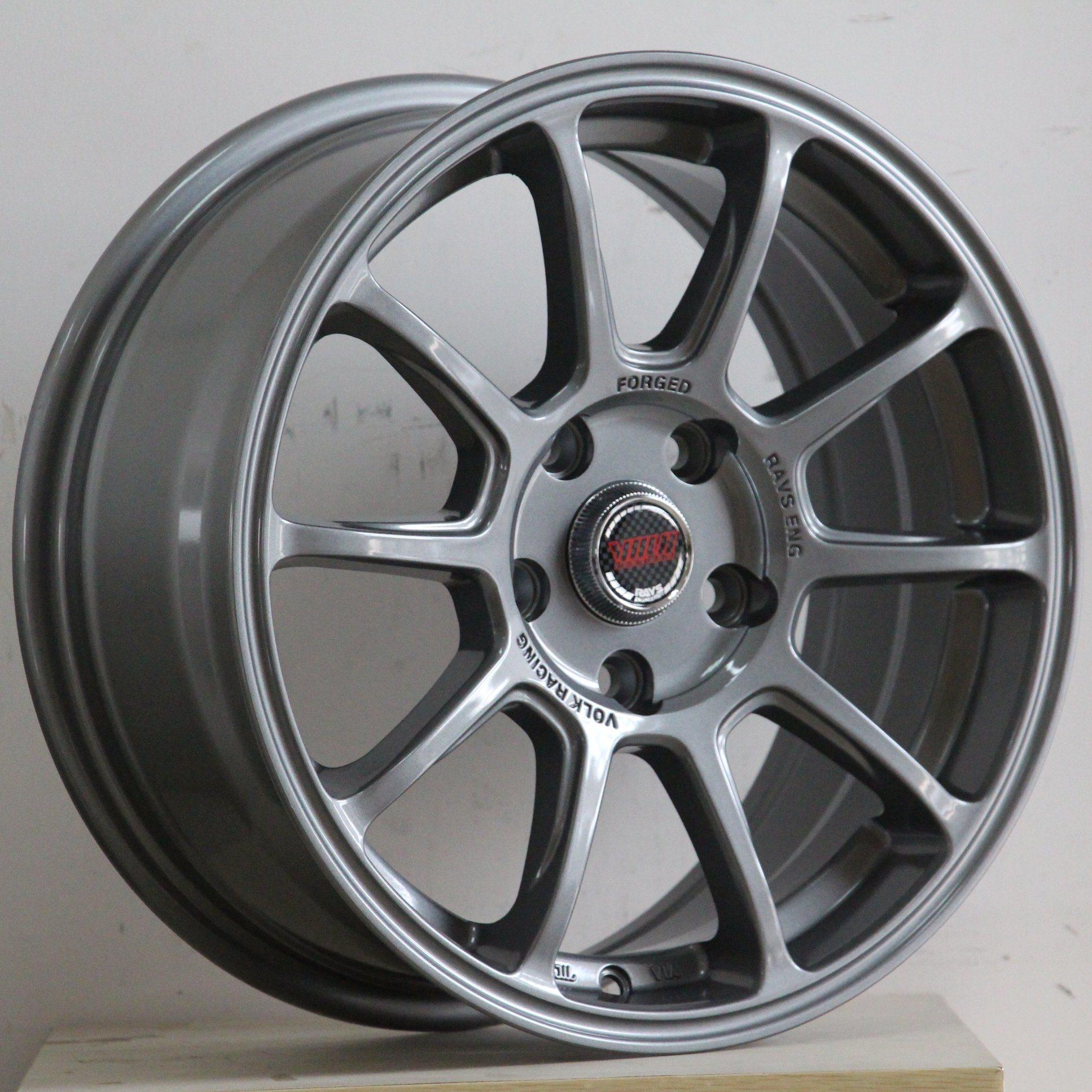 China 16 Inch 17 Inch Japan Rays Volk Racing Alloy Wheel Rims China Alloy Wheel Via Jwl Wheels