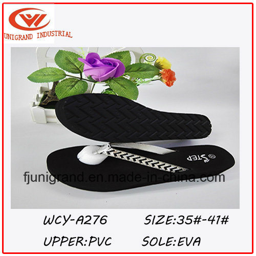 2016 Summer Fashion Design Paillette Ladies Flip Flop