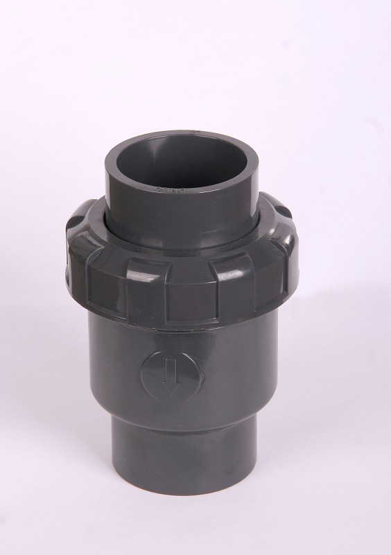 Stop/Check Valve (DIN, ASTM) PVC Plastic Pipe Fitting