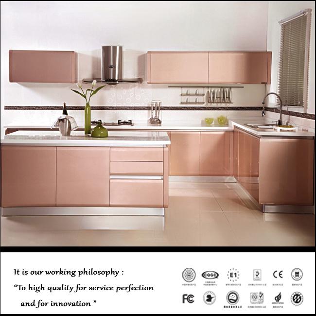 China European Style Restaurant Teak Wood Kitchen Cabinet ...