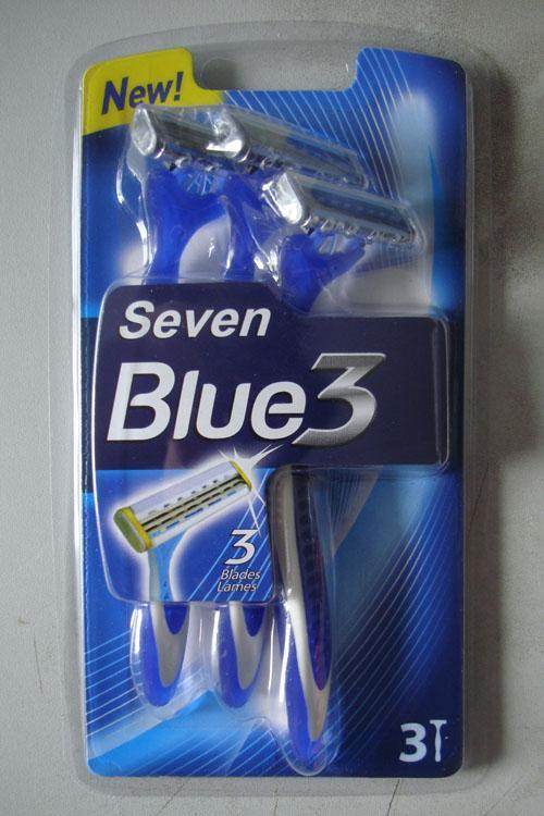 Personna Triple Blade Disposable Razor (KD-B3009L of 3s)